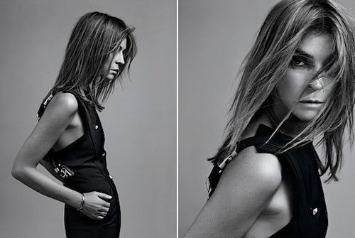 Carine Roitfeld by Hedi Slimane | Source: NY Mag