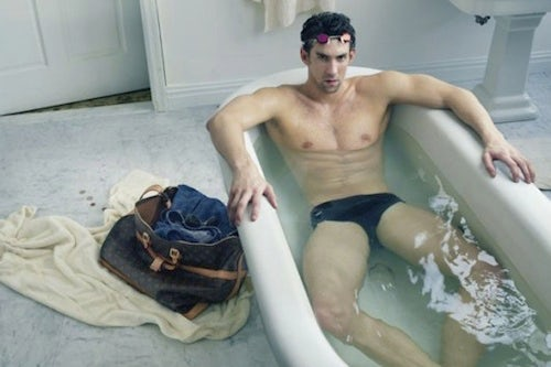Michael Phelps for Louis Vuitton | Source: Louis Vuitton