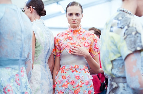 Erdem Spring/Summer 2013 | Photo: Morgan O'Donovan