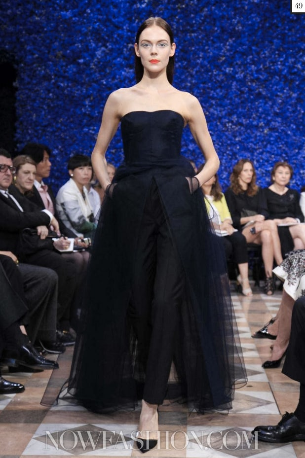 A look from Dior Couture Fall/Winter 2012 | Source: Nowfashion.com