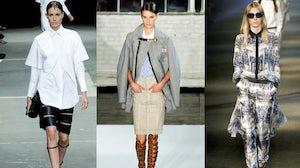 Alexander Wang, Altuzarra, Prabal Gurung Spring/Summer 2013 | Source: Style.com