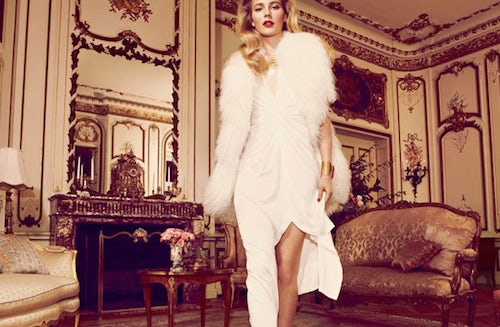Halston Autumn/Winter 2012 campaign | Source: Halston