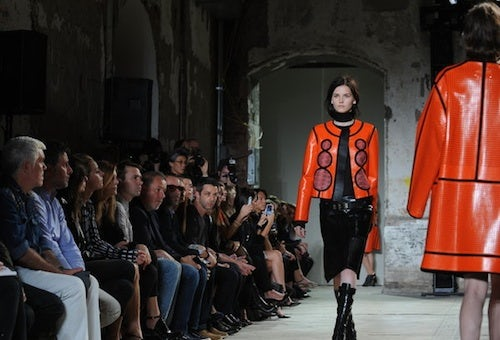 Proenza Schouler Spring/Summer 2013 by Jennifer S. Altman | Source: NY Times