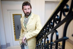 Stefano Pilati by Evan Sung | Source: NY Times