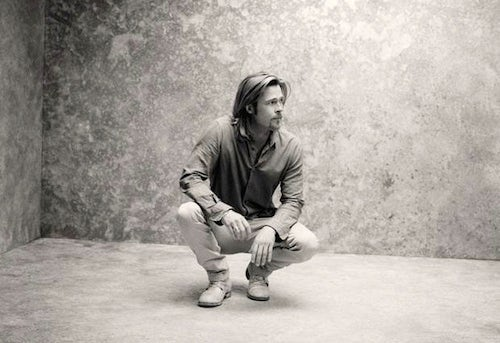 Brad Pitt for Chanel No. 5 by Sam Taylor-Wood | Source: Chanel