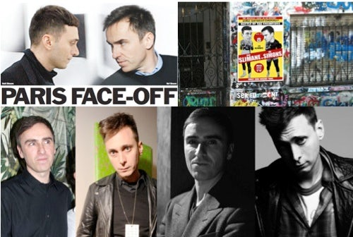 Hedi Slimane versus Raf Simons, as see by the fashion media | Source: WWD, BoF, IHT and The Cut