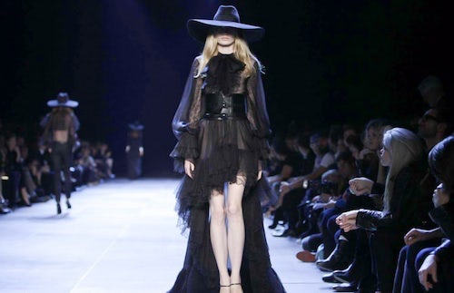 Saint Laurent Spring/Summer 2013 | Source: Nowfashion