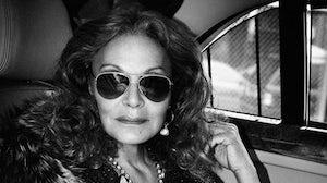 Diane von Furstenberg by Patrick Demarchelier | Source: Interview Magazine