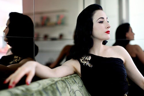 Dita Von Teese by Emily Berl | Source: NY Times
