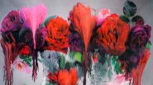 """""""Dog'' from Nick Knight's Photo/Paintings   Source: IHT"""