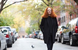 Grace Coddington by Greg Kessler | Source: NY Times