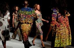 Ituen Basi, Summer 2013, Lagos Fashion & Design Week | Source: NY Times