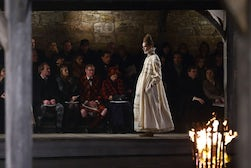 Chanel pre-fall, Linlithgow Palace | Source: Wallpaper*