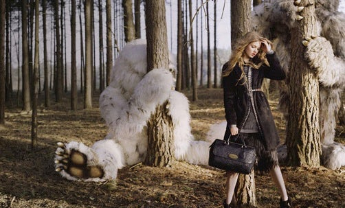Mulberry Autumn/Winter 2012 | Source: Grazia Daily