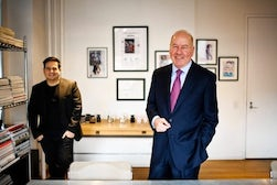 Narcisco Rodriguez and Robert Wichser by Ramsay de Give | Source: WSJ