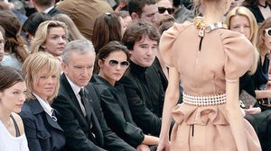 Bernard Arnault at Louis Vuitton | Source: FT