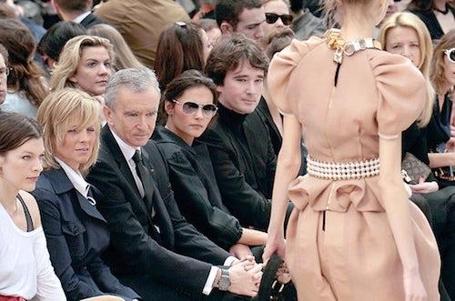 Bernard Arnault at Louis Vuitton | Source: FT