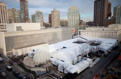 New York Fashion Week, Damrosch Park | Source: NY Times