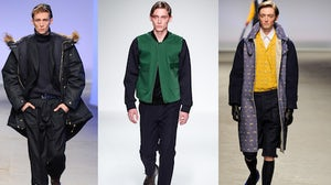 Topman Design, Lou Dalton, MAN Autumn/Winter 2013 | Source: Style.com