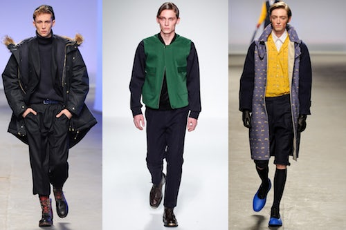 Topman Design, Lou Dalton, MAN Autumn/Winter 2013 | Source: Style.com