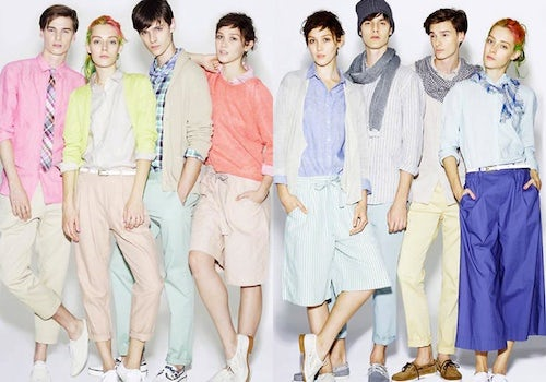 Uniqlo Spring/Summer 2013 Men's Lookbook | Source: Fashion Bears
