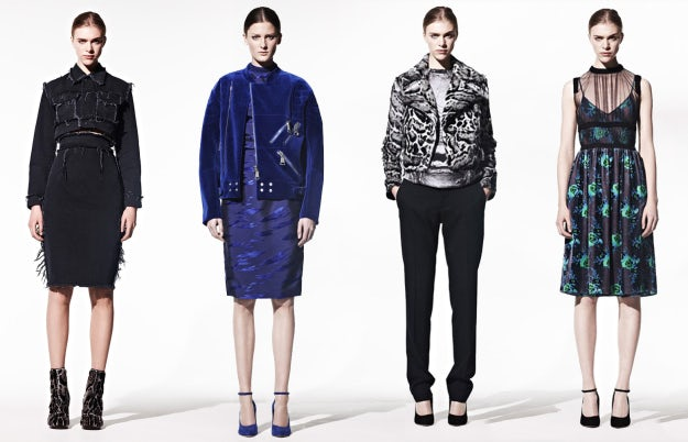 Looks from Christopher Kane's first pre-fall collection