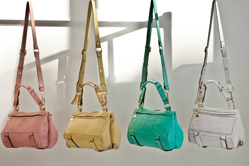 Duo Satchel bags from Golden Lane's S/S 2013 Collection | Source: Golden Lane