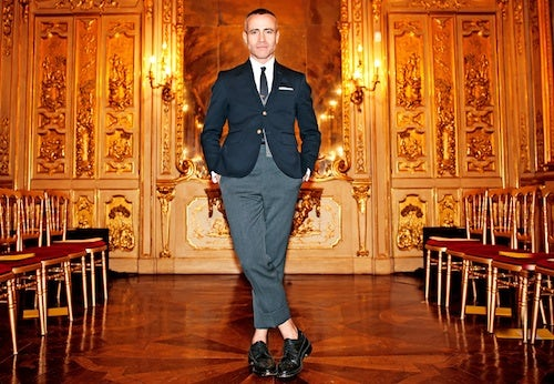 Thom Browne by Dylan Don | Source: The Talks