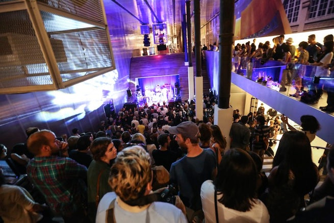Revellers party at Prada's SoHo flagship   Source: Business Insider