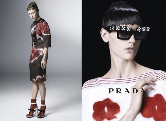 Prada Spring/Summer 2013   Source: Prada