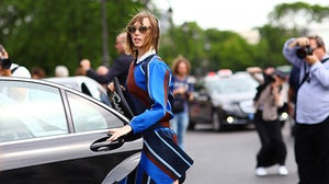 Anya Ziourova wearing Ostwald Helgason   Source: Phil Oh/Streetpeeper