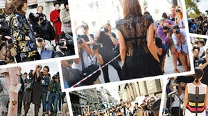 Fashion paparazzi outside the shows | Source: Style Snooper Dan