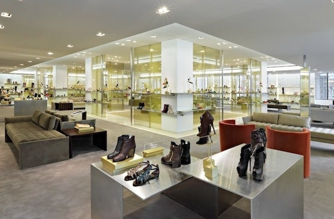 Barneys New York Shoe Floor | Photo: Tom Sibley for Barneys