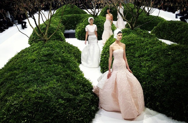 Dior Spring 2013 Haute Couture | Photo: The Business of Fashion
