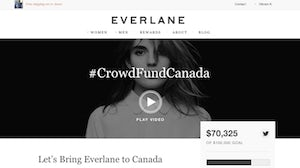 CrowdFundCanada | Source: Everlane
