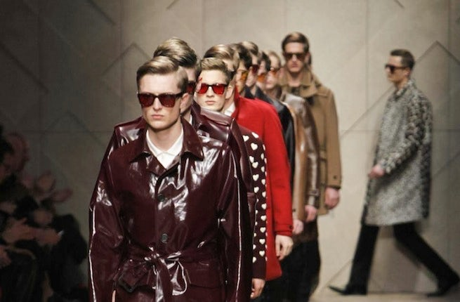 Burberry Mens Fall/Winter 2013 | Source: Nowfashion