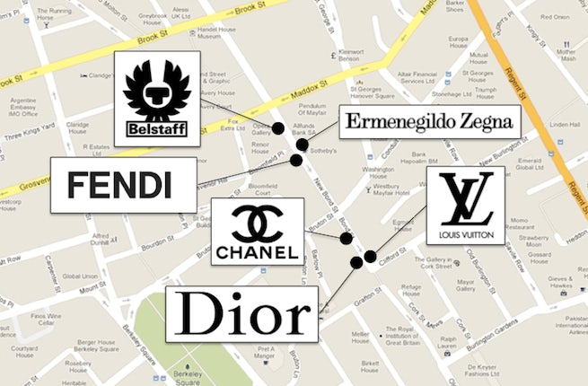 Bond Street's Coming Luxury Megastores | Source: BoF