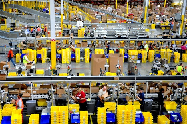 Amazon Workers On Black Friday Strike