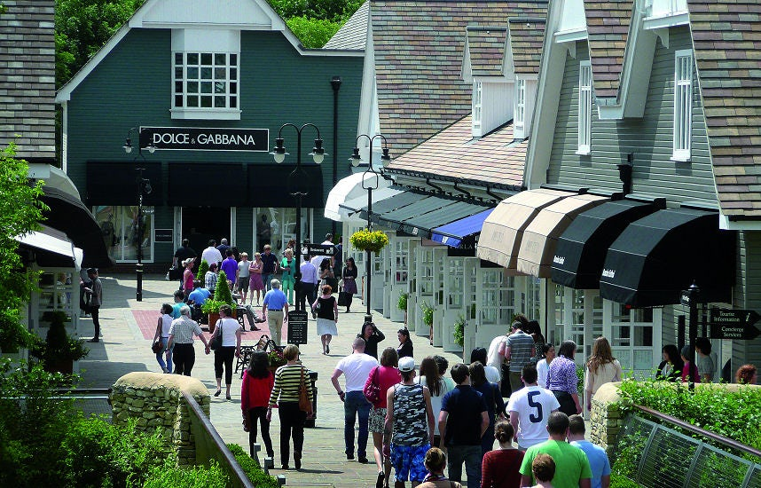 Bicester Village luxury outlet | Source: Value Retail