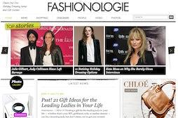 Fashionologie screenshot | Source: Wayback Archive