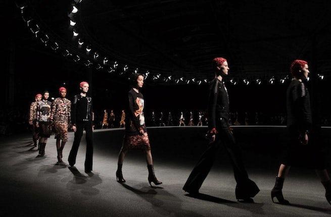 Givenchy Autumn/Winter 2013 | Source: Nowfashion
