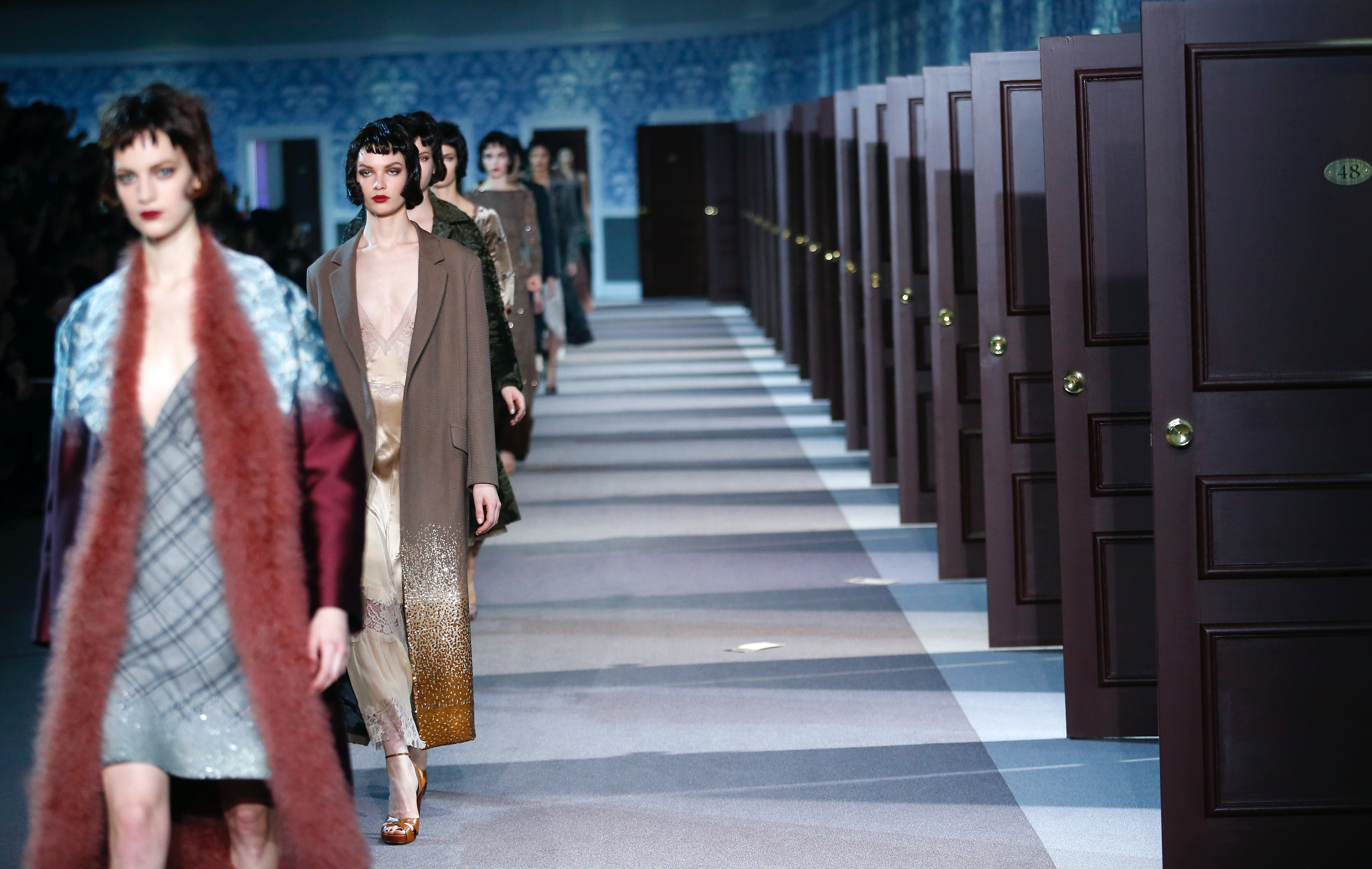 Louis Vuitton Autumn/Winter 2013 | Source: Associated Press