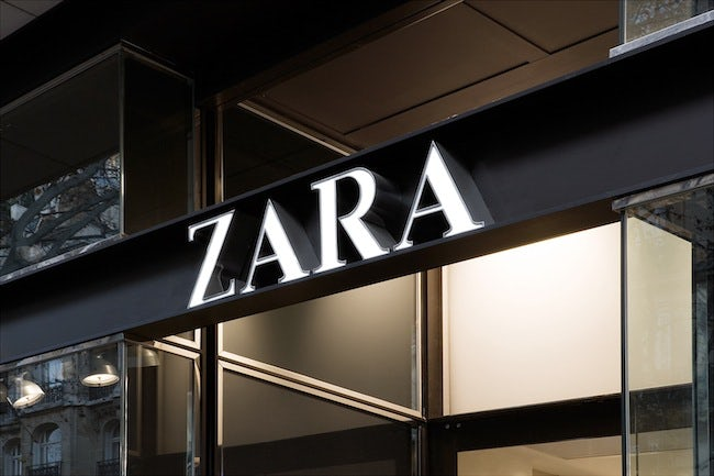 Zara store | Source: Courtesy