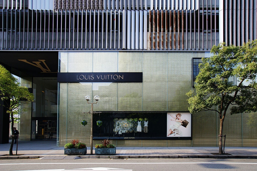 Louis Vuitton store in Kobe, Japan | Source: Wikicommons