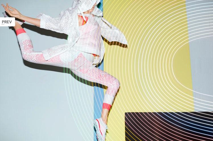 Stella McCartney for Adidas by Viviane Sassen | Source: Rhea Thierstein