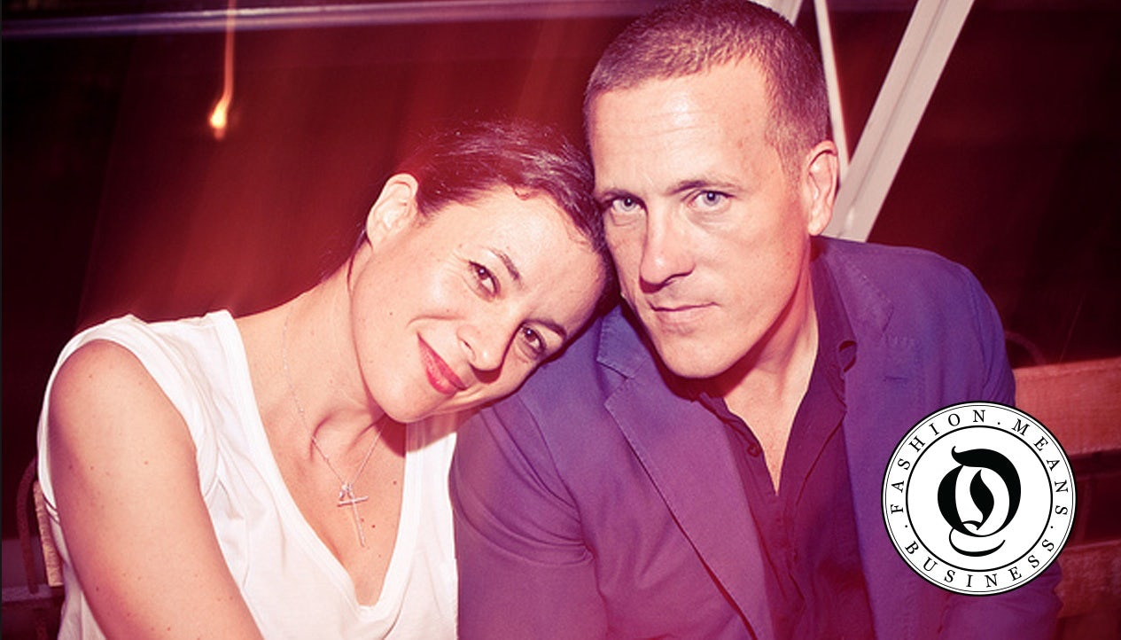 Scott Schuman and Garance Dore | Photo: Jason Travis