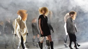 Rick Owens Autumn/Winter 2013 | Photo: Andreea Macri/Courtesy of Style.com