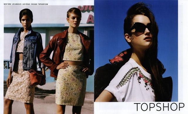 Topshop Spring/Summer 2013 | Source: Topshop
