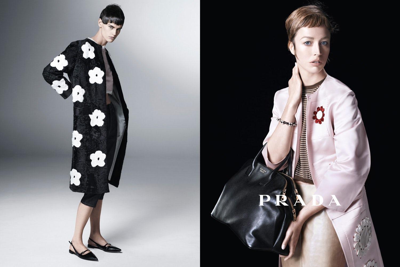 Prada Spring 2013 Campaign | Source: Prada