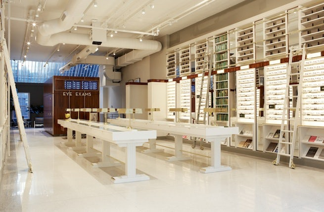 Warby Parker Flagship, Soho, New York | Source: Warby Parker